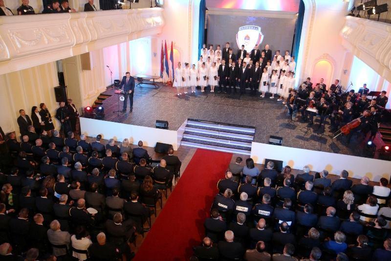 Министар Лукач на Свечаној академији поводом Дана полиције истакао наш факултет