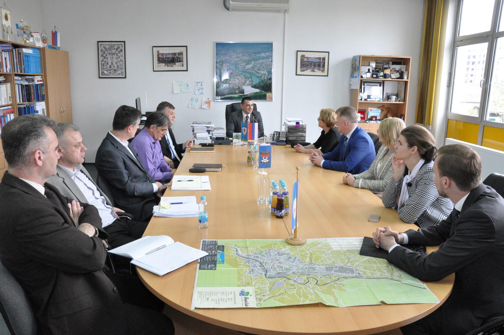 Делегацијa МУП-а Руске Федерације посјетила Управе за полицијску обуку