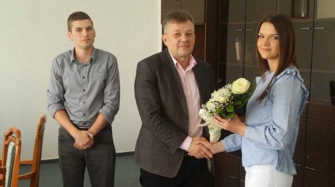 Декан примио освајаче медаља на студентским играма Универзитета