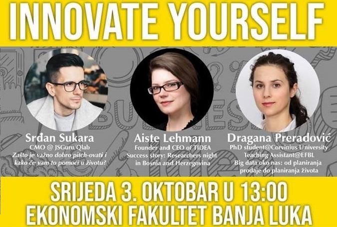 Innovate YourSelf – Иновирај своје знање!