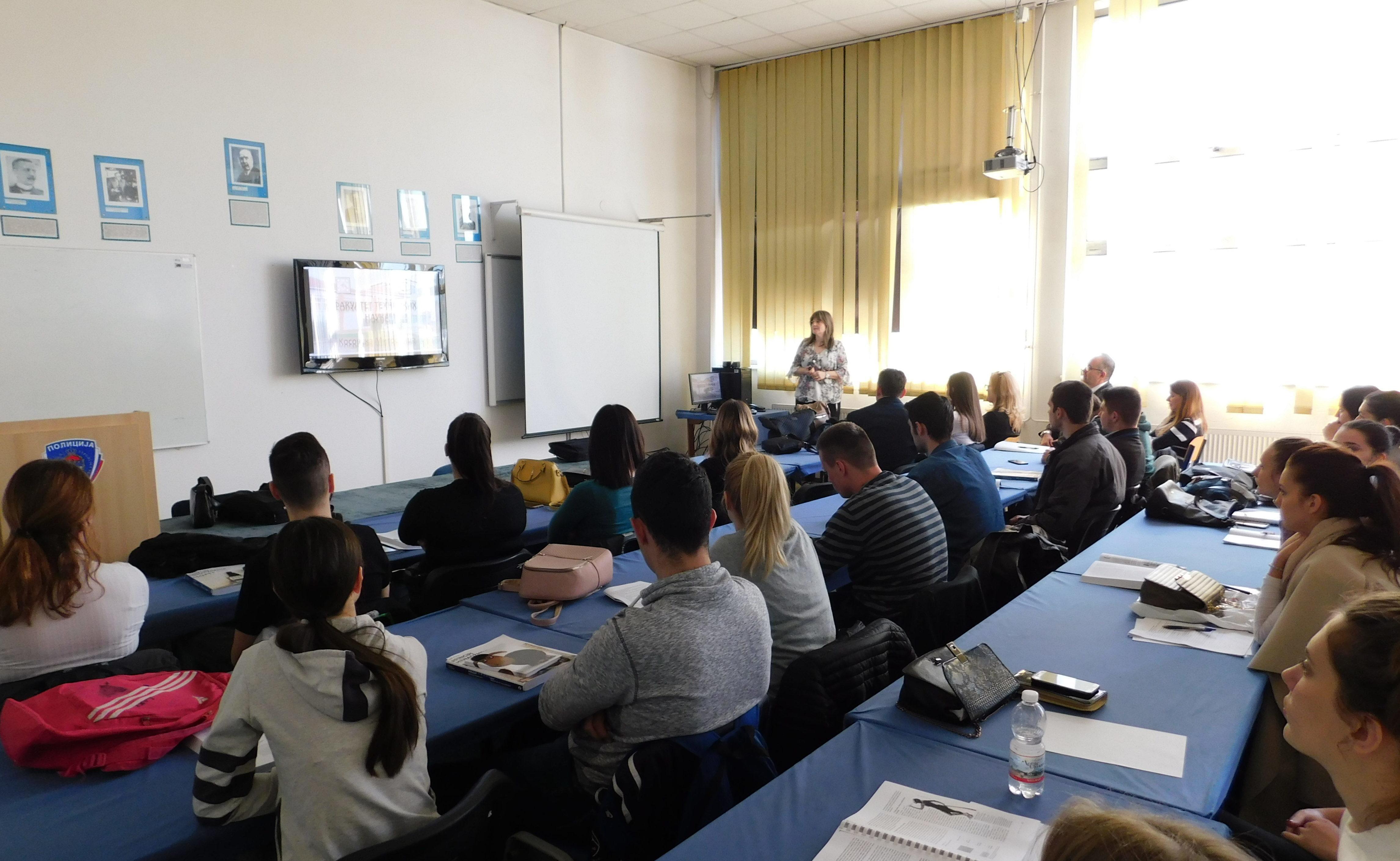 Gosti sa Kosmeta održali prezentacije studentima Fakulteta