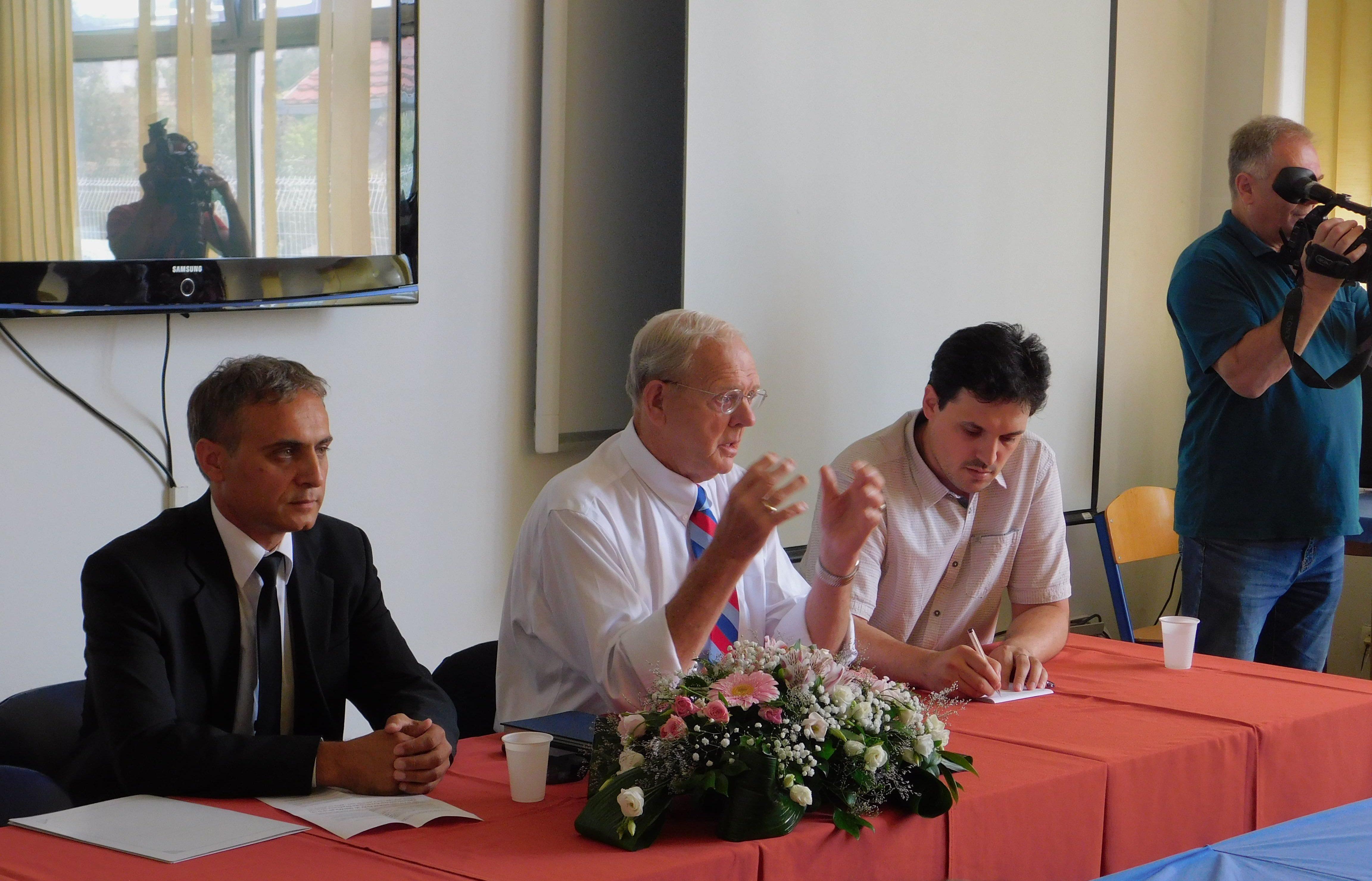 Стивен Мејер одржао предавањена Факултету безбједносних наука