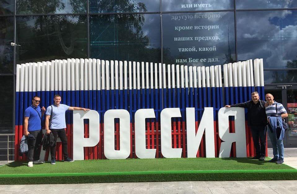 Predstavnici Fakulteta u posjeti MDOU Moskva