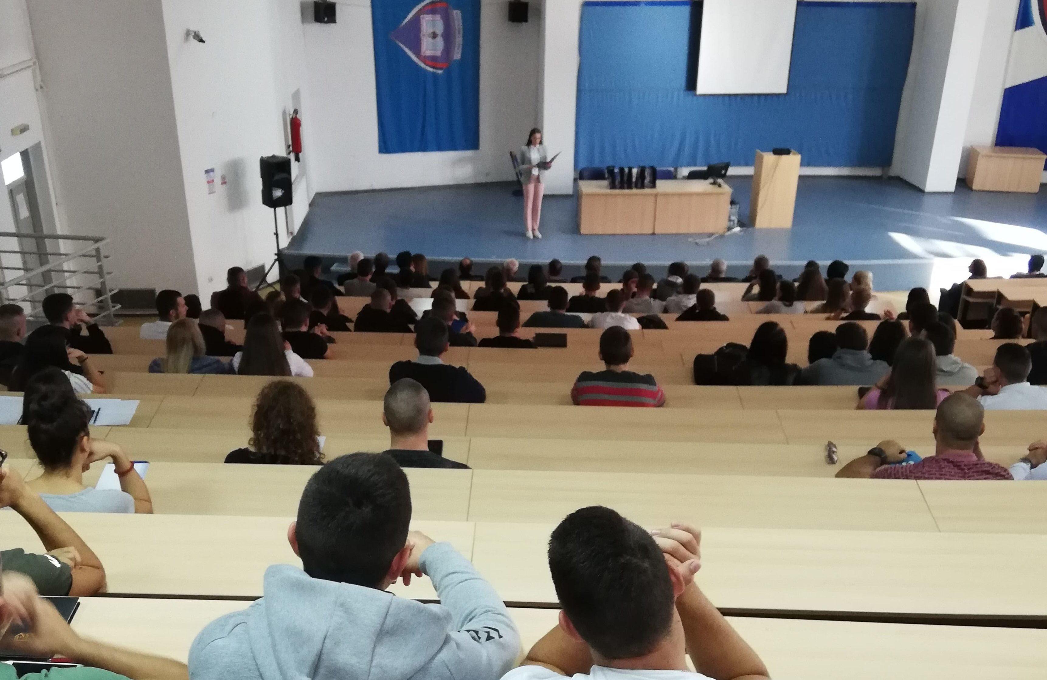 Одржан академски час за студенте прве године