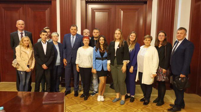 Profesore I Studente Iz Rusije Koji Su Gosti Fakulteta Bezbjednosnih Nauka Primio Srpski član Predsjedništva