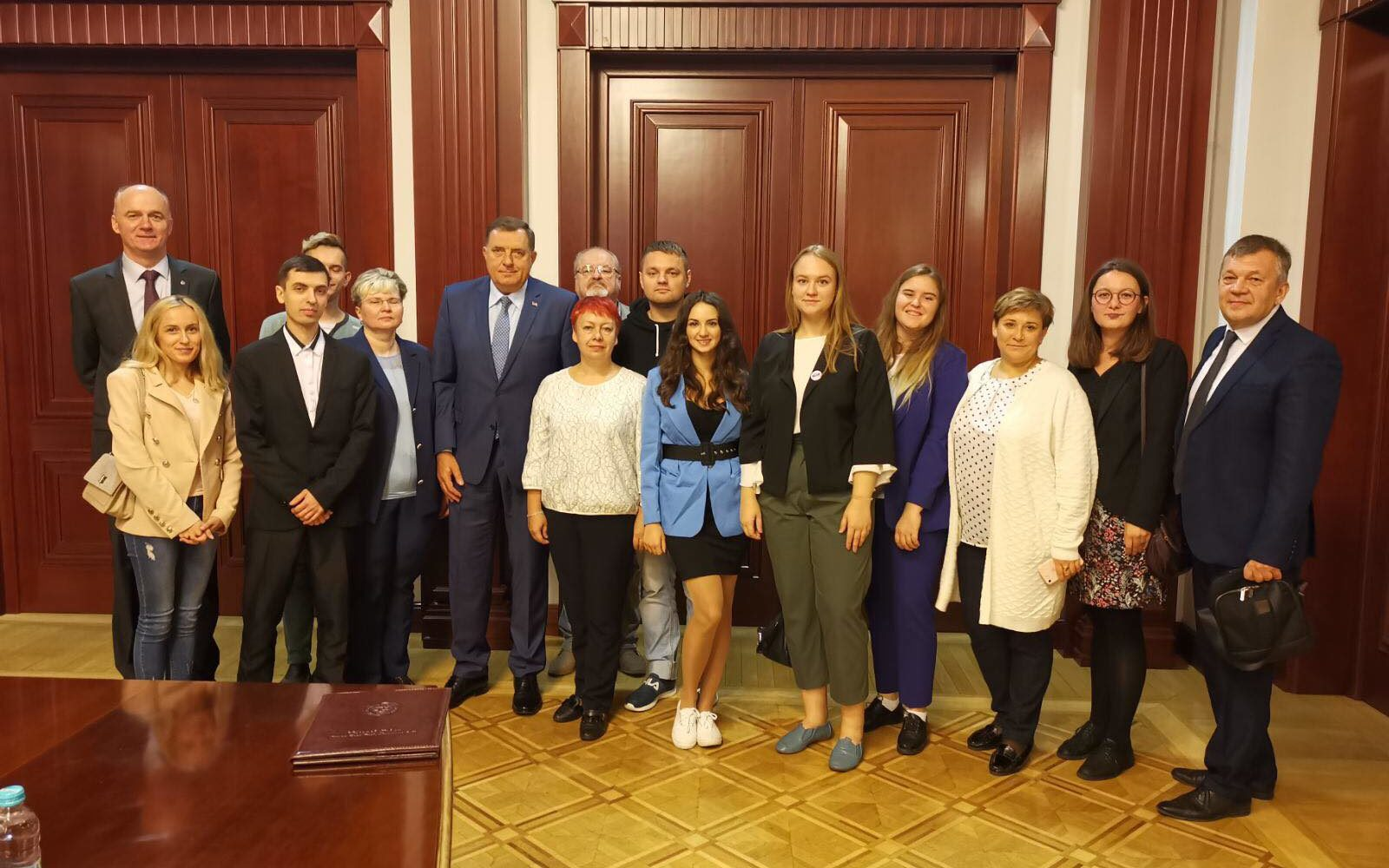 Професоре и студенте из Русије који су гости Факултета безбједносних наука примио српски члан Предсједништва
