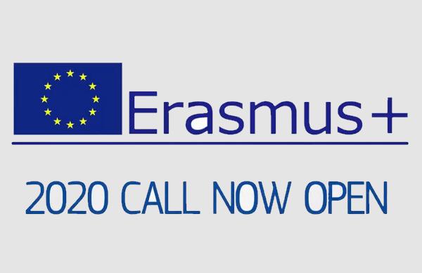 Otvoren poziv za prijavu prijedloga projekata Erazmus+ 2020
