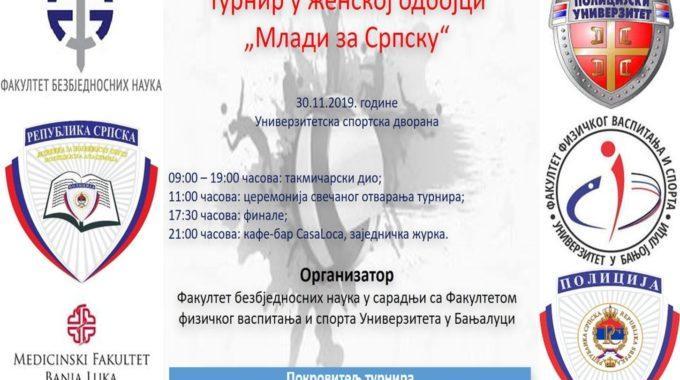 """Turnir U ženskoj Odbojci  """"Mladi Za Srpsku"""""""