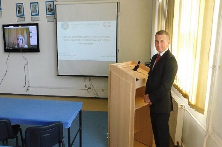 Одбрањен први мастер рад на Факултету безбједносних наука – Гордан Милошевић