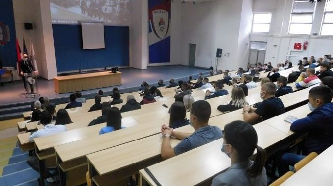 An Academic Class Was Held For Newly Enrolled Students In The Academic 2020/21