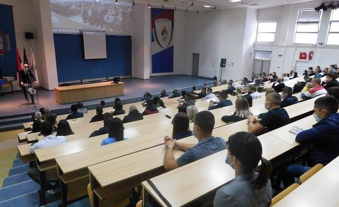 Održan akademski čas za novoupisane studente u akademskoj 2020/21. godini