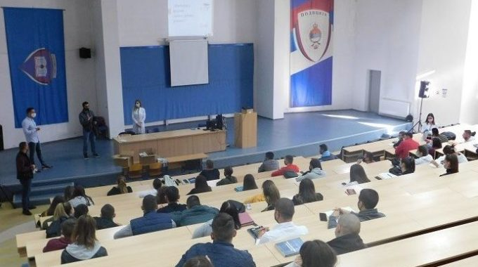 Representatives Of The Students' Union Held A Presentation To Colleagues On Measures Of Socially Responsible Behavior In The Conditions Of The Kovid-19 Pandemic