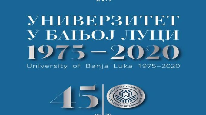 University Of Banja Luka Marked The Jubilee