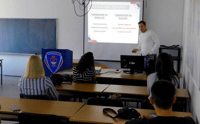 Др Филип Кукић одржао предавање на Факултету безбједносних наука