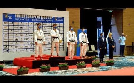 Божидар Вучуревић освојио бронзану медаљу у џудоу на европској смотри јуниора