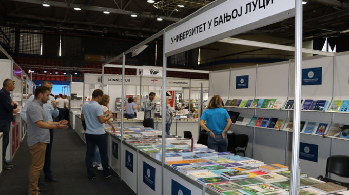 """Sajam Knjige """"Banja Luka 2021"""" – Publikacije Fakulteta Bezbjednosnih Nauka Dostupne Na štandu UNIBL"""