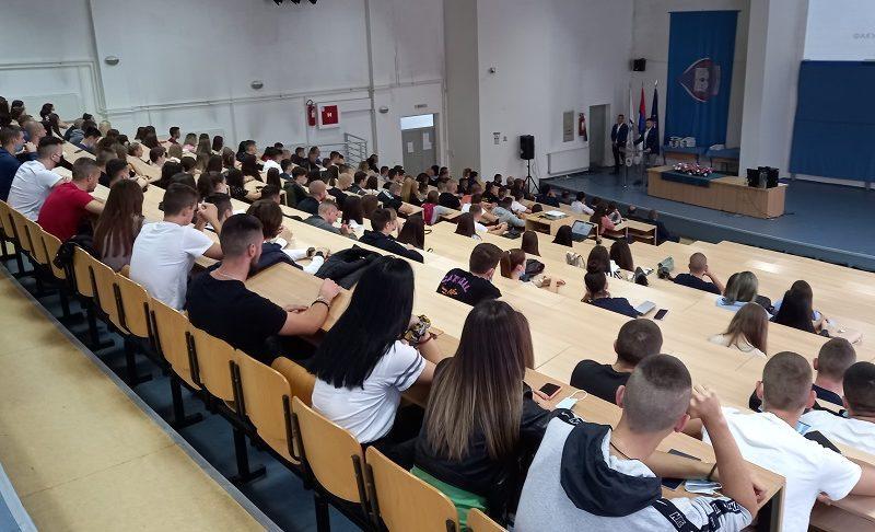 Академски час и почетак наставе за студенте прве године у академској 2021/22. Додјела награда најбољим студентима