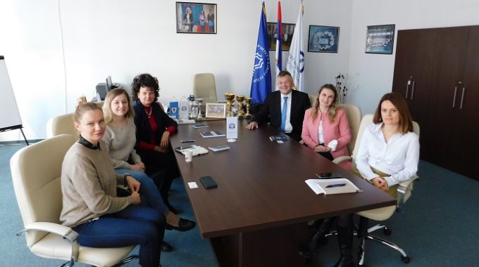 """Одржан радни састанак са представницима Универзитета """"Доброљубов"""" из Нижњег Новгорода"""